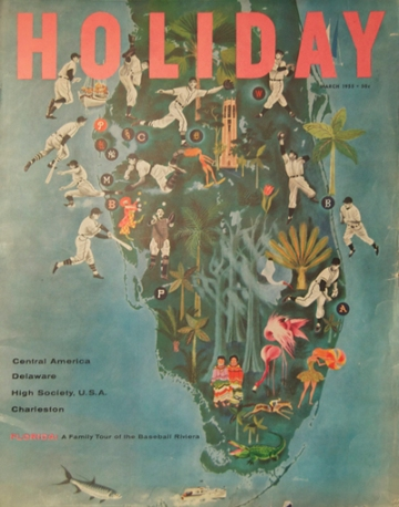 Holiday magazine, March 1955